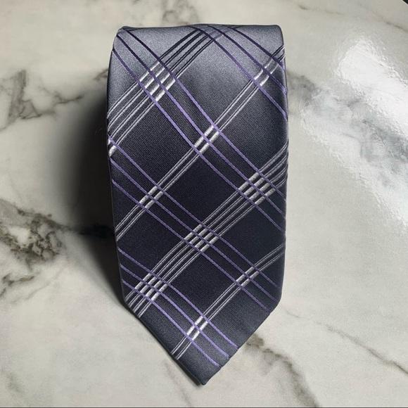 Michael Kors Plaid Tie
